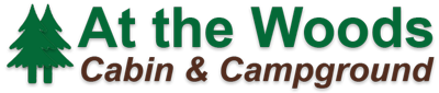At The Woods Cabins Logo